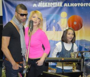 Tolvai Renáta, Kállay-Saunders András és Patai Anna