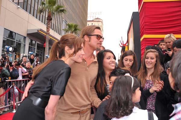 Kung Fu Panda 2 - Los Angeles-i Premier - Angelina Jolie és Brad Pitt