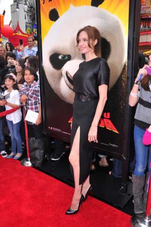 Kung Fu Panda 2 - Los Angeles-i Premier - Angelina Jolie
