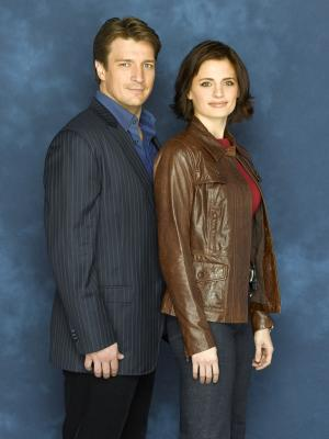 Castle 024 Nathan Fillion - Stana Katic