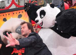 Kung Fu Panda 2 - Los Angeles-i Premier - Jack Black 001