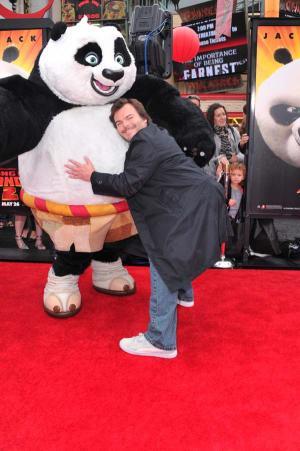 Kung Fu Panda 2 - Los Angeles-i Premier - Jack Black 002