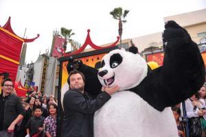 Kung Fu Panda 2 - Los Angeles-i Premier - Jack Black 003