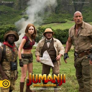 Jön az új Jumanji film a mozikba