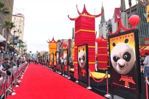 Kung Fu Panda 2 - Los Angeles-i Premier - A vörös szőnyeg