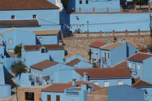 Júzcar - Az andalúz hupikék falu 004