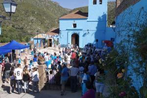 Júzcar - Az andalúz hupikék falu 008