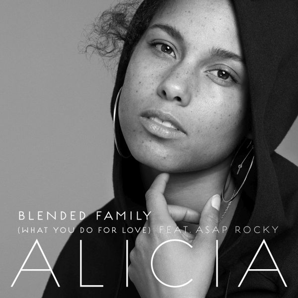 Alicia Keys Blended Family