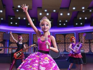 Barbie a rocksztár hercegnő
