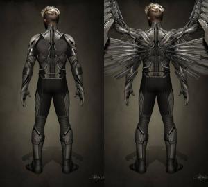 Ben Hardy Angyal X-Men Apocalypse