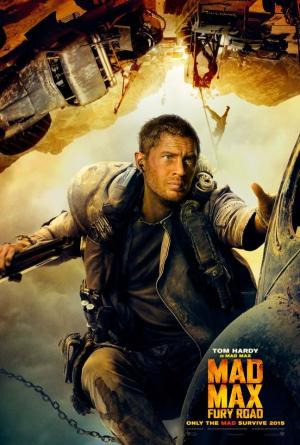 Mad Max Tom Hardy plakat