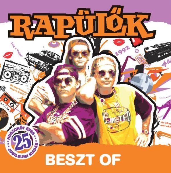 Rapülők Beszt of album