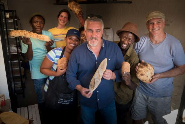 Paul Hollywood és a város ízei